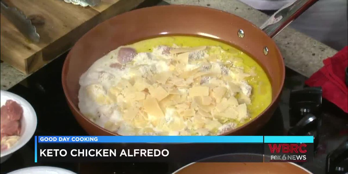James K. Jones: Keto Chicken Alfredo