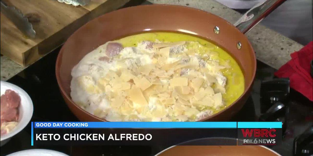 James K. Jones: Keto Chicken Alfredo