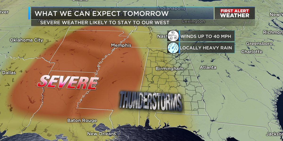 FIRST ALERT: Rain and thunder return Thursday afternoon