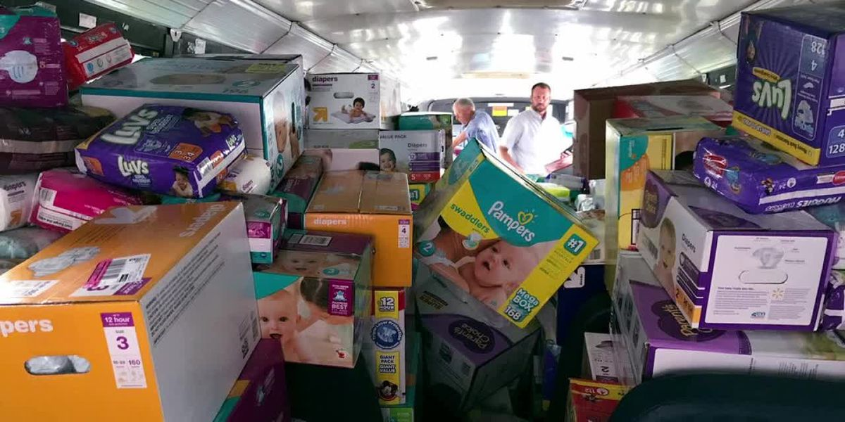 Bundles of Hope distributes diapers to families in need