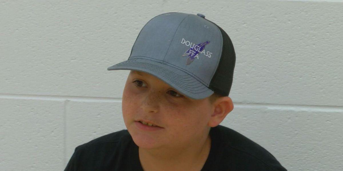 Texas boy donates over $11,000 to deputy's family