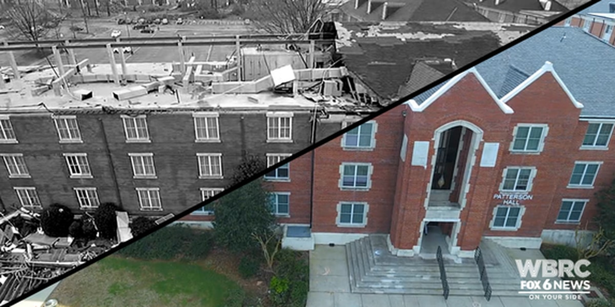 VIDEO: JSU tornado damage then and now