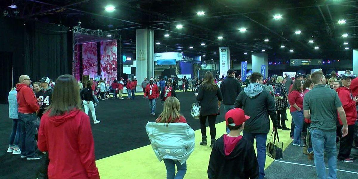 Tide, Bulldog fans taking over the city of Atlanta