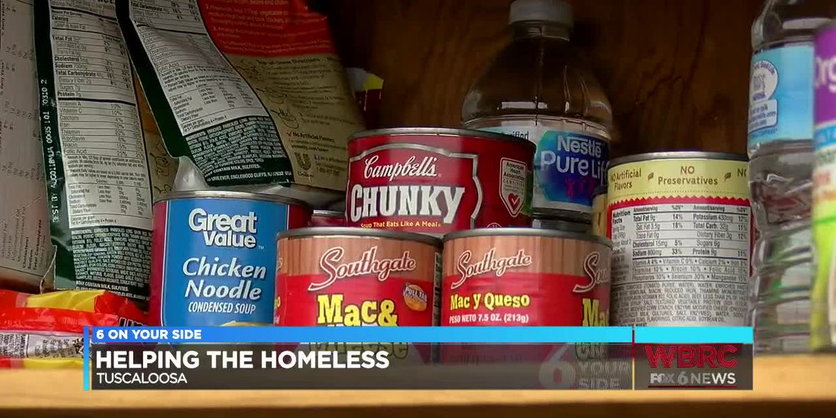 Tuscaloosa food pantry for homeless