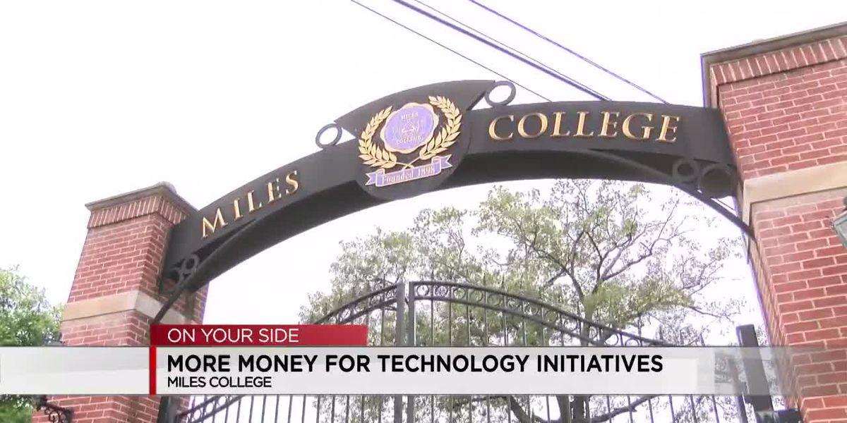 Miles College receives money for technology initiatives