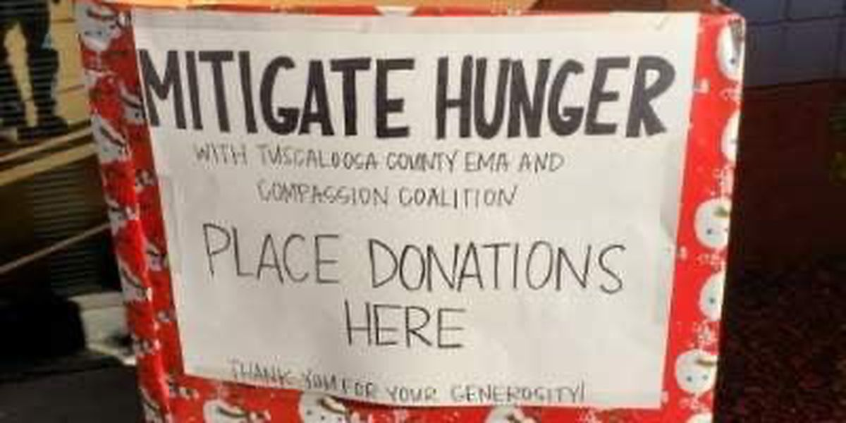 Tuscaloosa Co. EMA launches Mitigate Hunger drive