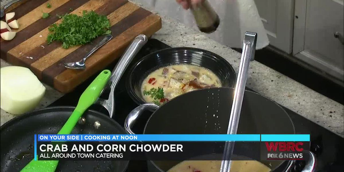 AATC: Crab & corn chowder