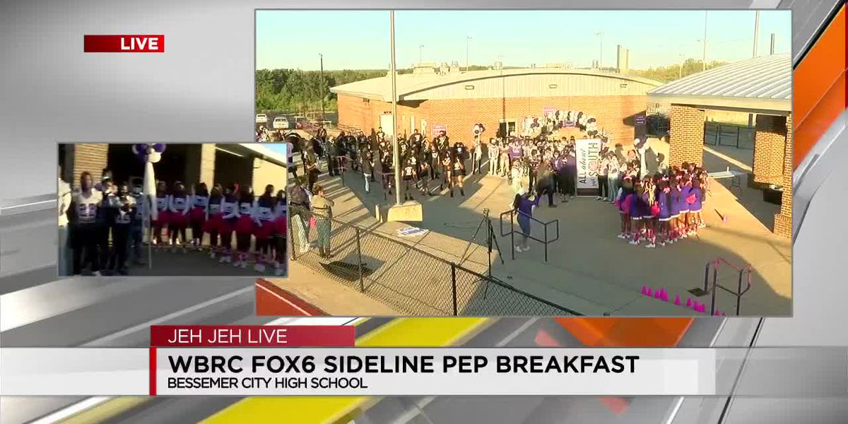 WBRC FOX6 Sideline Pep Breakfast presented by Jack's at Bessemer City HS
