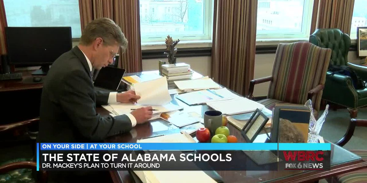 At Your School: State of Ala. schools, plan to turn it around