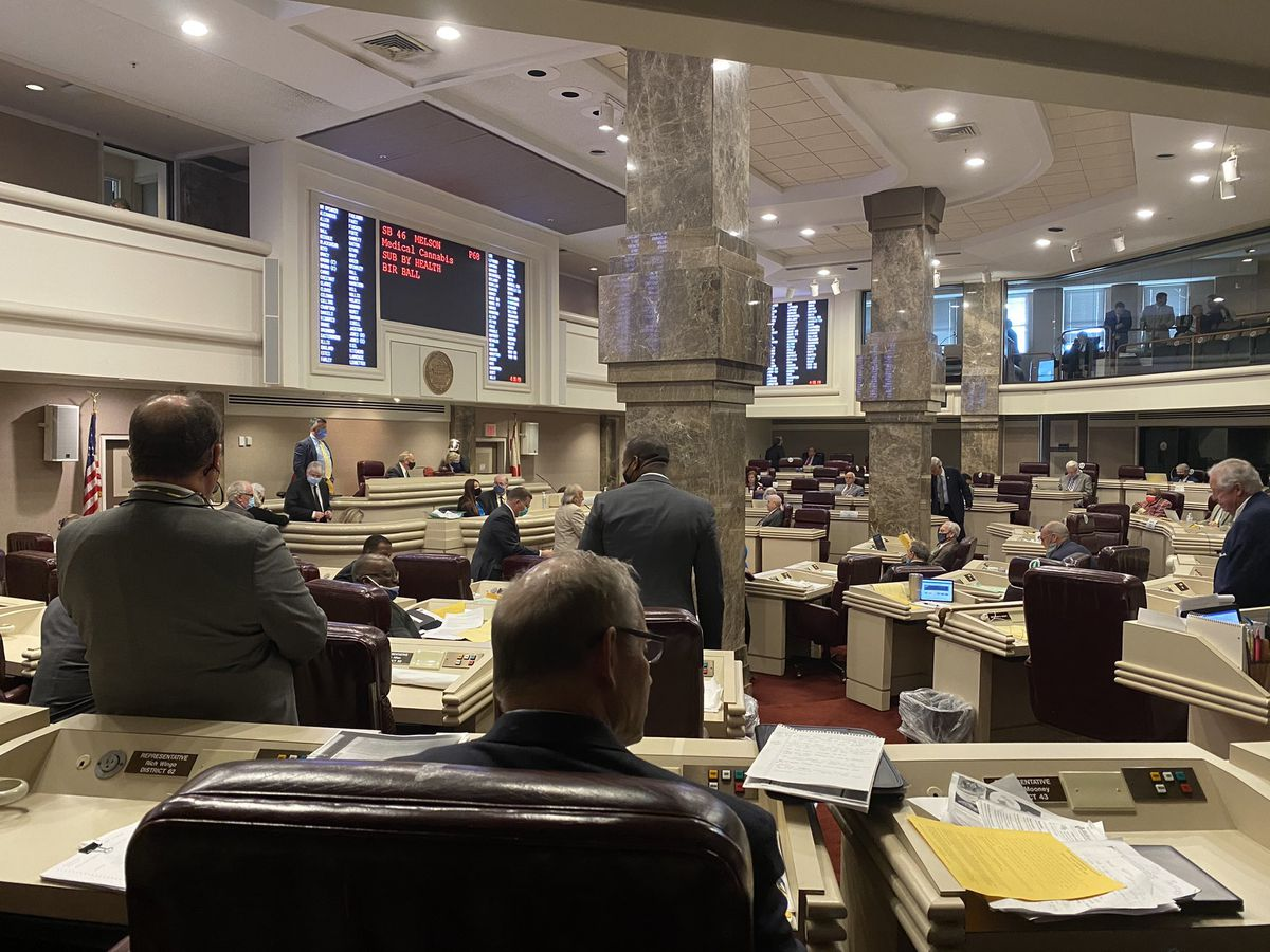 Medical marijuana bill stalls in Ala. House after 9 hours of debate