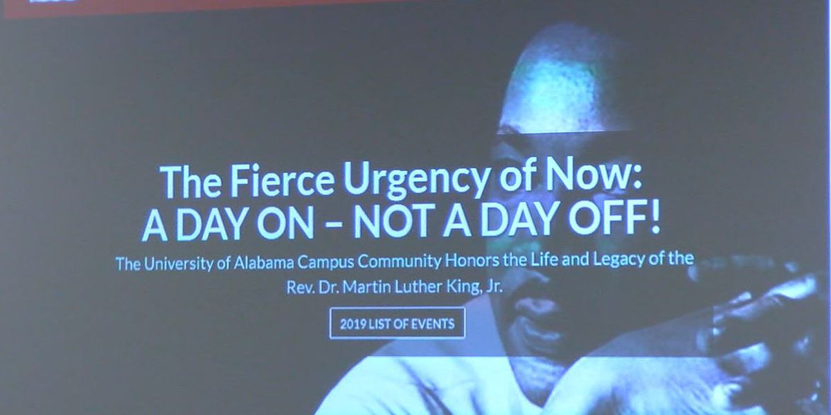 University of Alabama expands events around MLK holiday