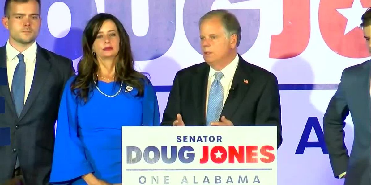 Senator Doug Jones releases statement on president-elect Joe Biden
