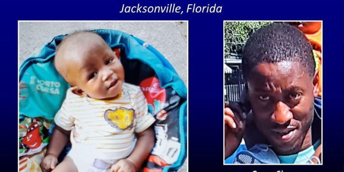 Missing child alert issued for northeast Florida baby