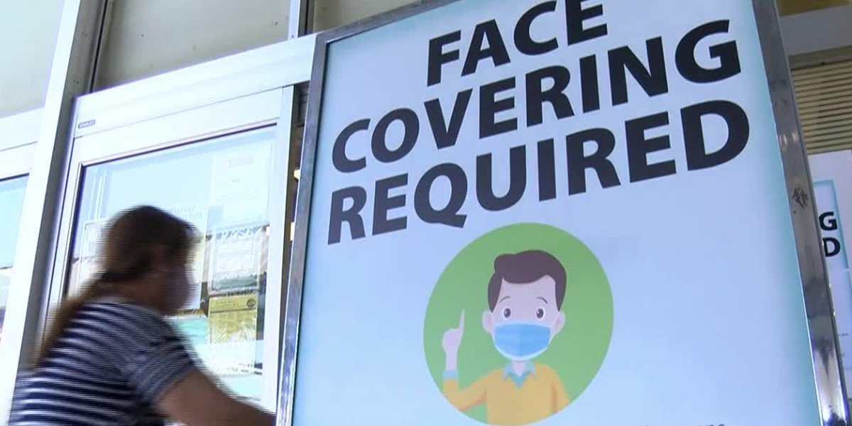 Face coverings will be required in Tuscaloosa city facilities