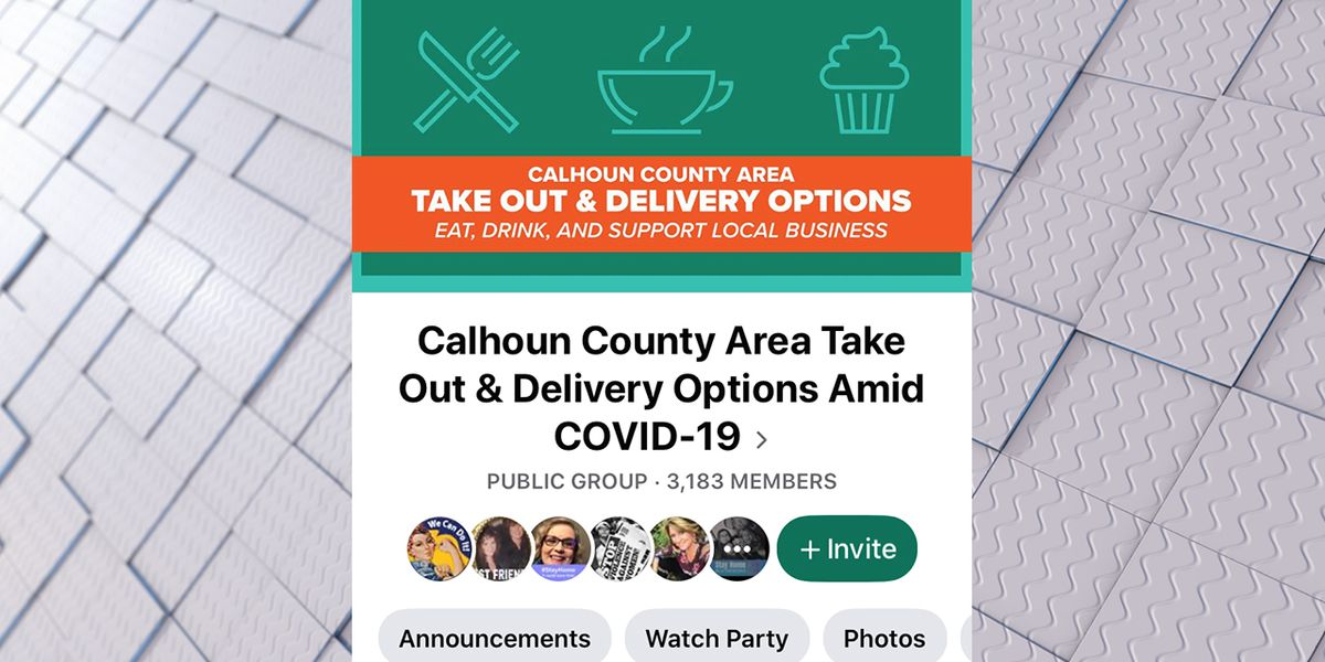 Facebook page touts curbside service at locally owned Calhoun Co. restaurants