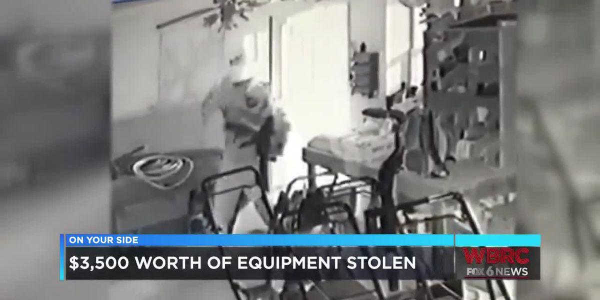 $3,500 worth of equipment stolen from Shelby Co. store