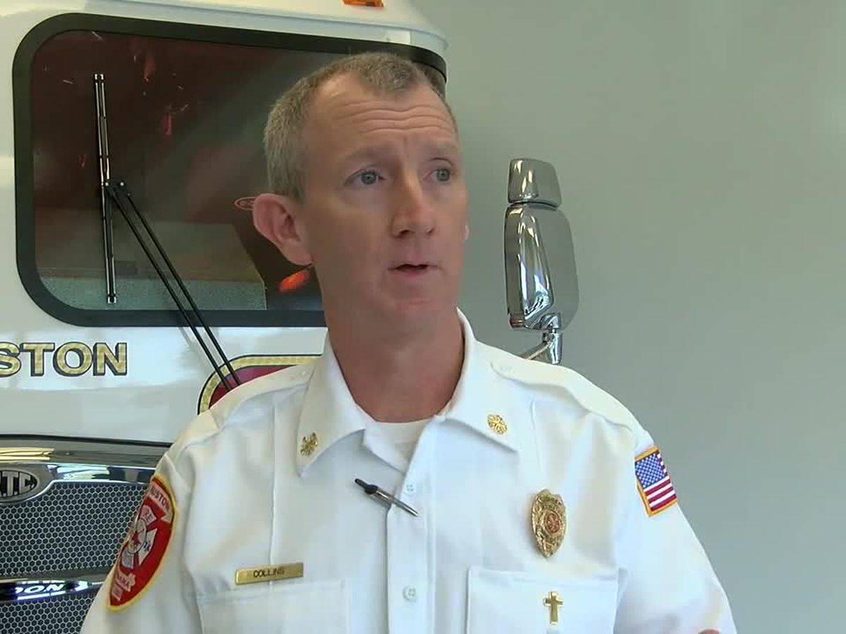 Anniston's Fire Chief retiring in October