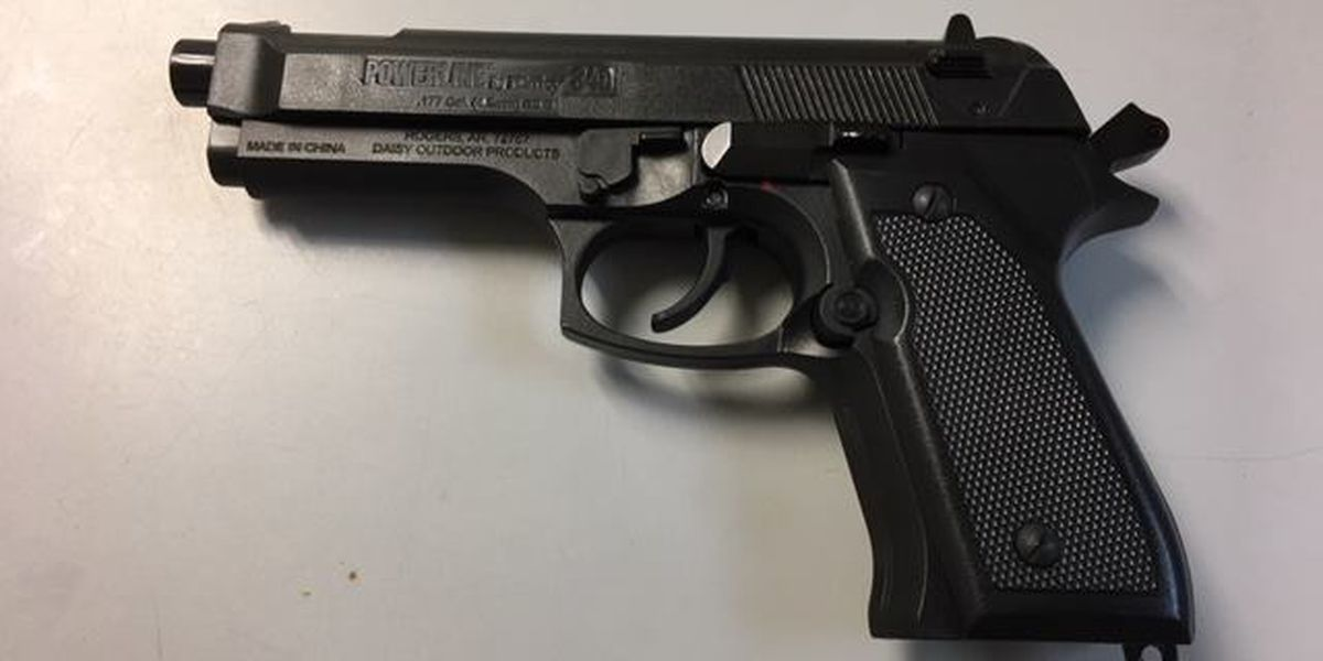 Hueytown HS student arrested for having BB gun at school