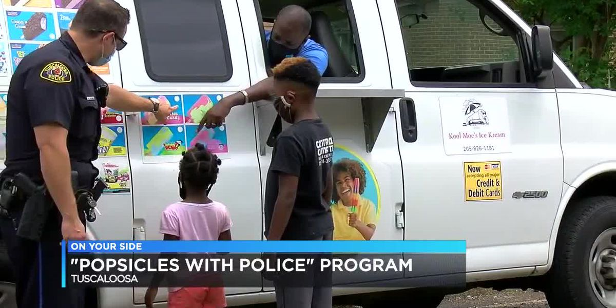 Popsicles with Police program brings youth closer to police officers