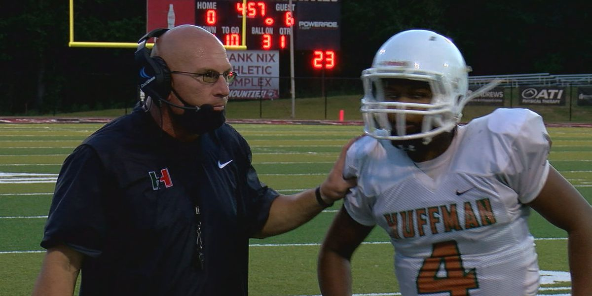 Huffman's early success on the gridiron inspires team, community