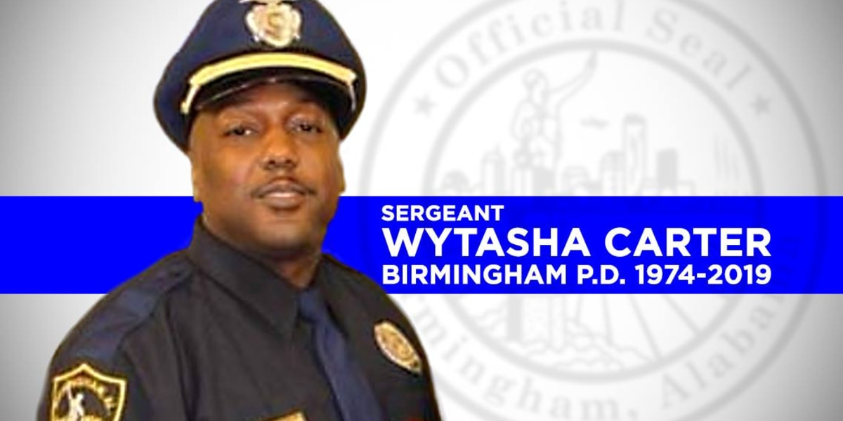 Tuscaloosa-area law enforcement to honor fallen Birmingham officer