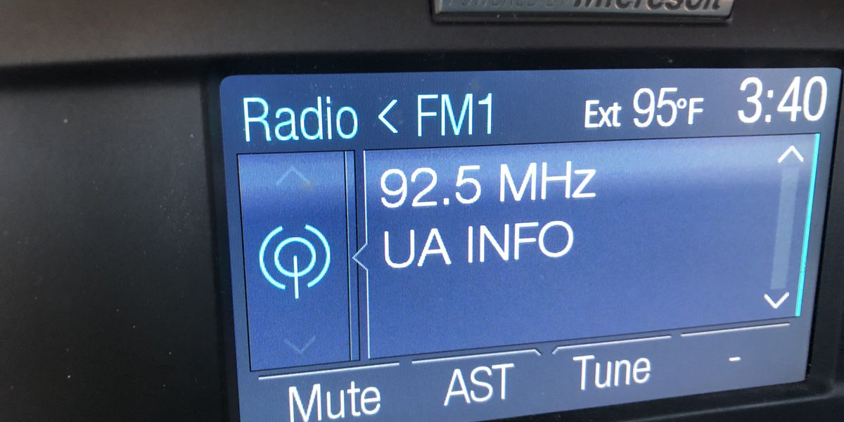 New UA radio station offers traffic and parking information for football fans