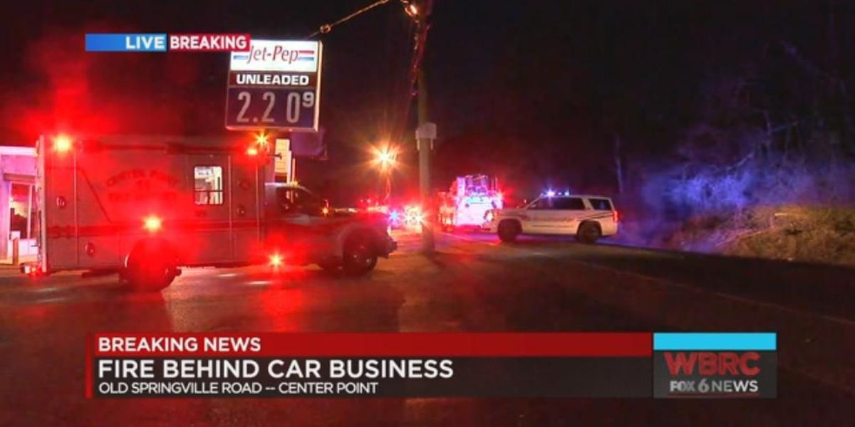 Multiple vehicle fire under investigation in Center Point
