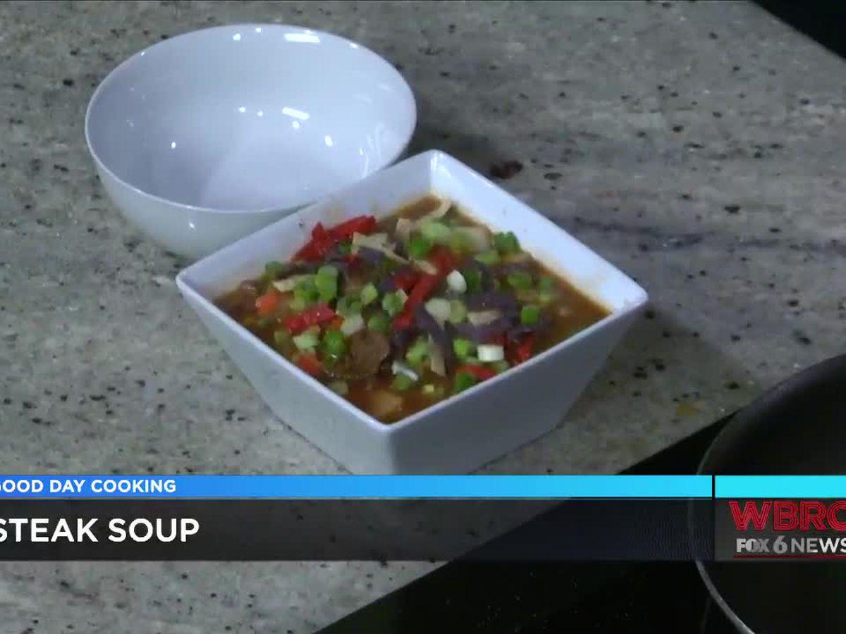 Chef Donnell Johnson: Steak Soup
