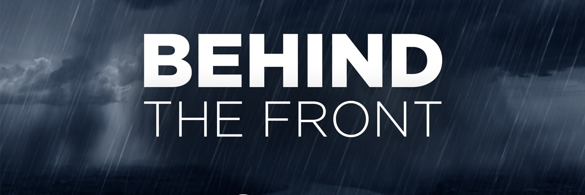 Behind the Front: Severe weather trends