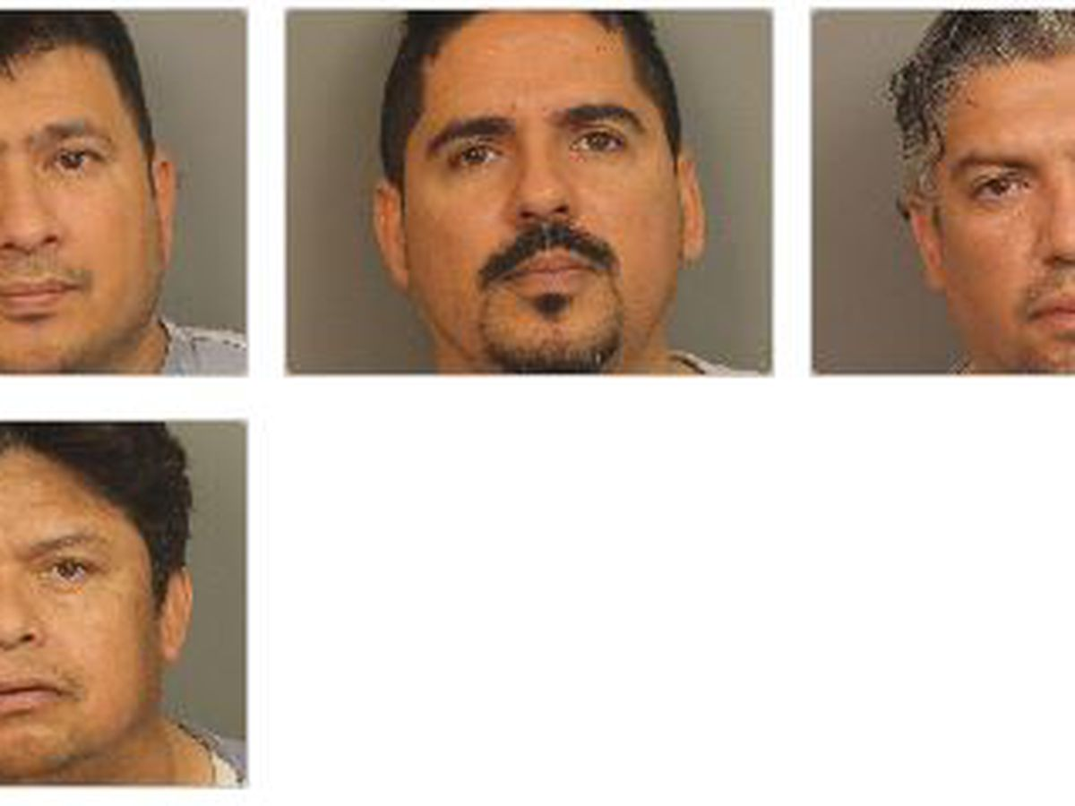 Four men arrested in drug trafficking investigation from Texas to Birmingham