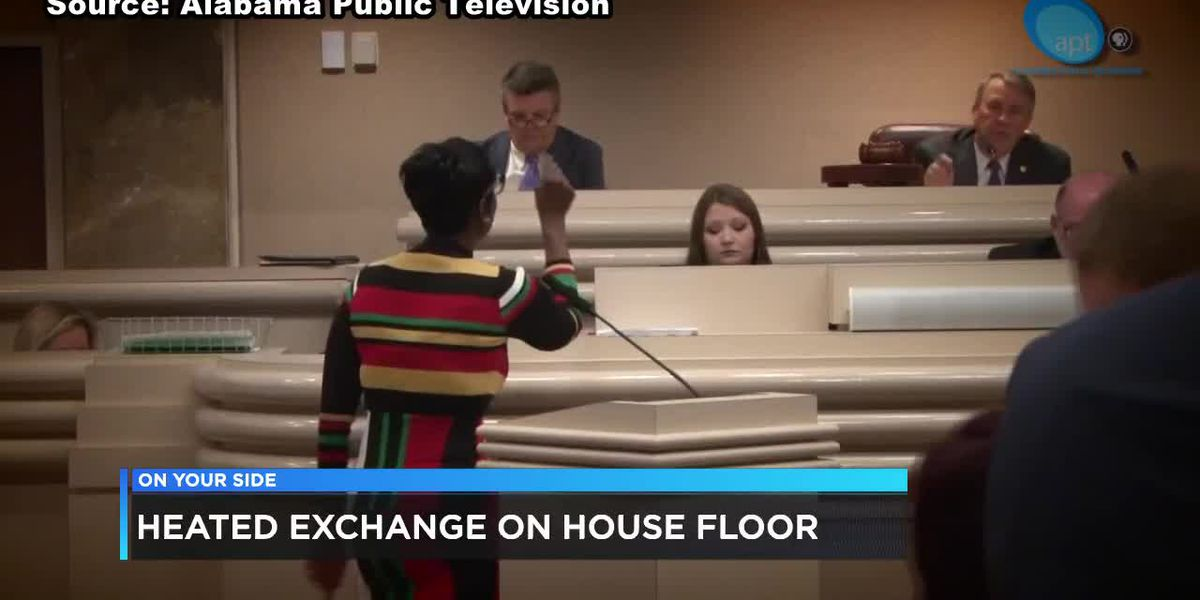 Heated exchange on Alabama House floor