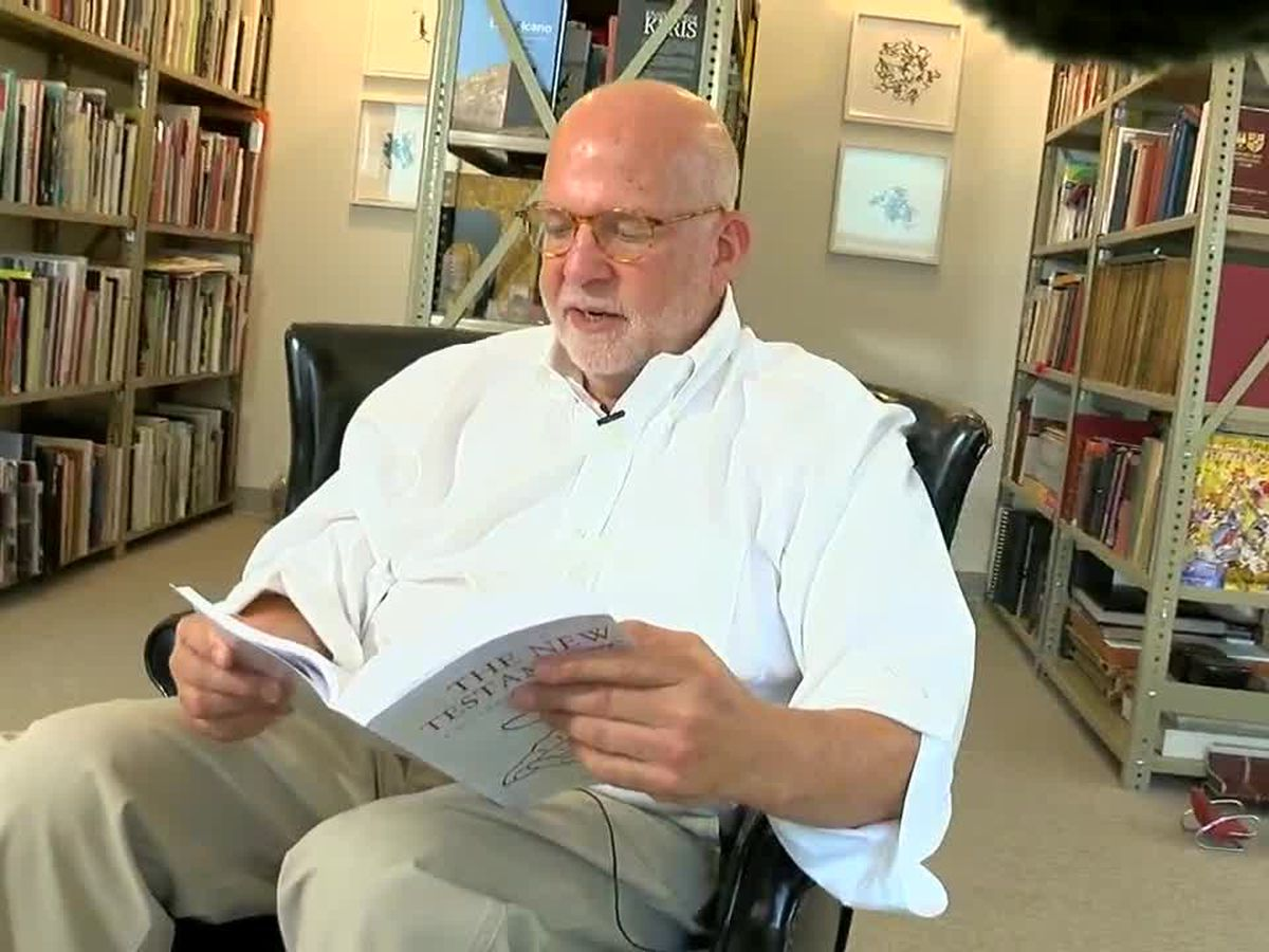 Alabama transplant brings the Bible to the 21st century