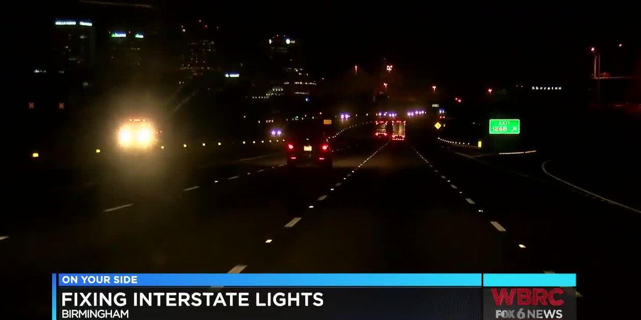 Project underway to improve interstate lights