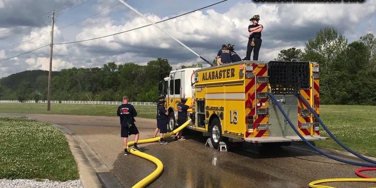 Alabaster Fire Dept welcomes new fire engine