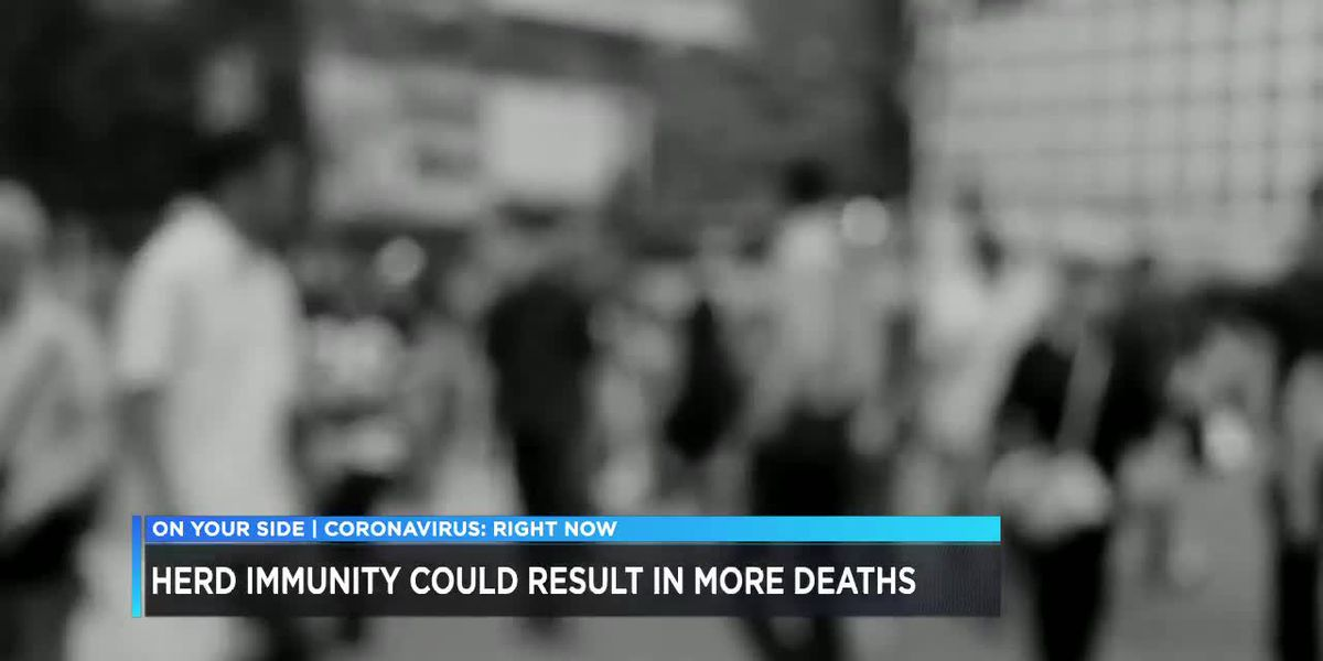 Herd immunity could result in more deaths