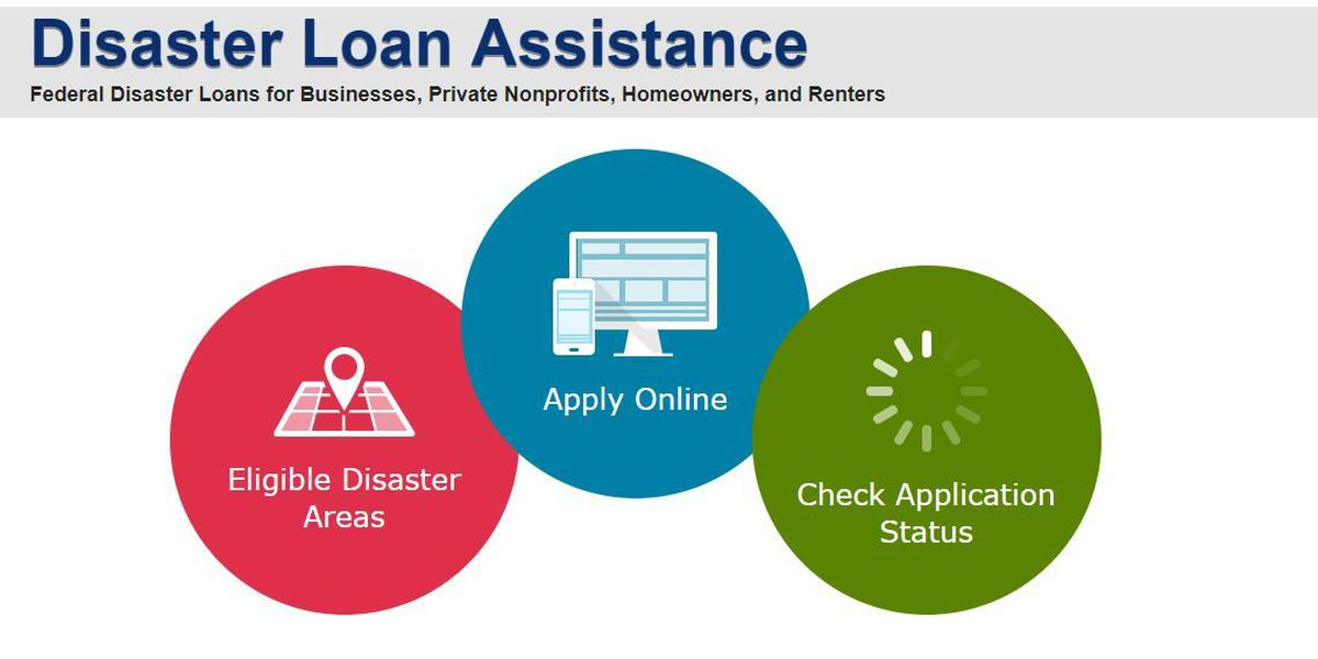 Apply for disaster assistance loans for damage from April 3 storms