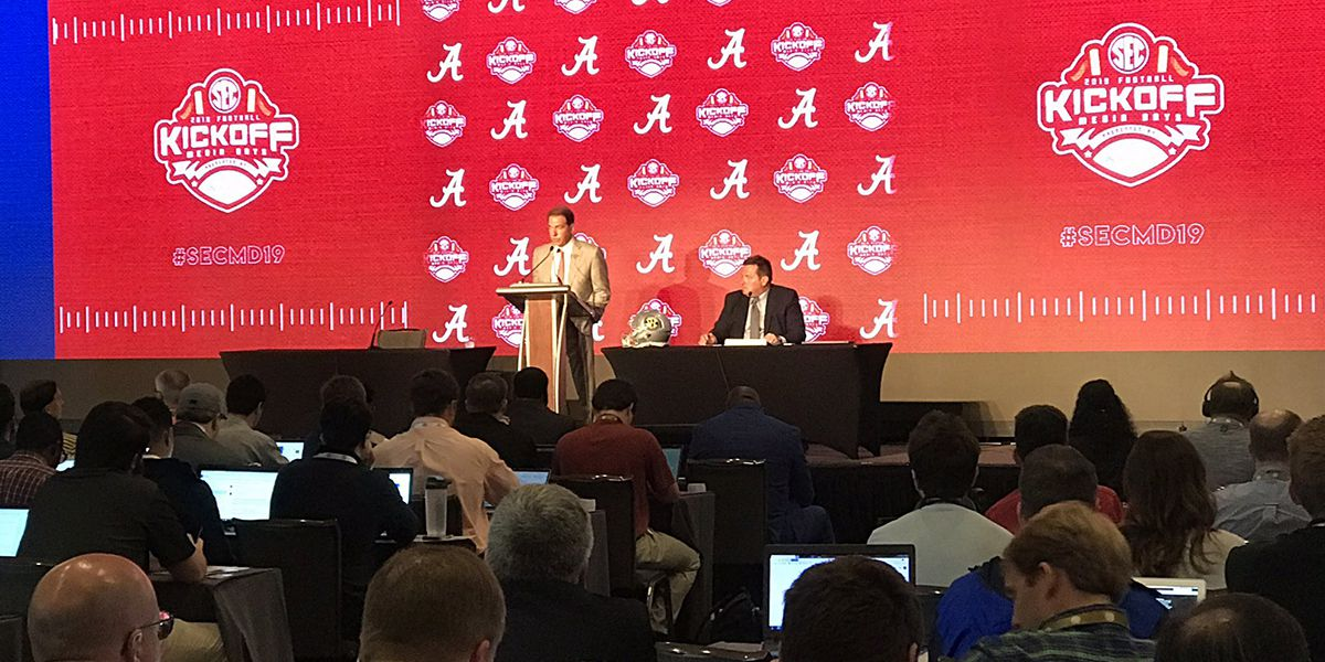 Alabama picked to win SEC by media; Preseason All-SEC teams released