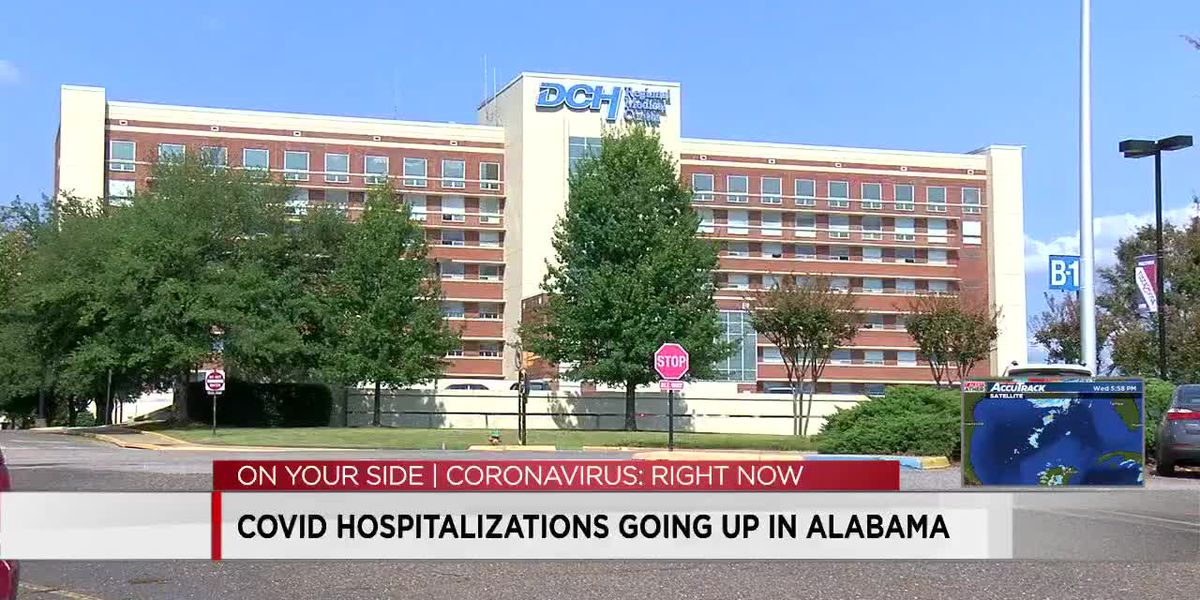 COVID hospitalizations going up in Alabama