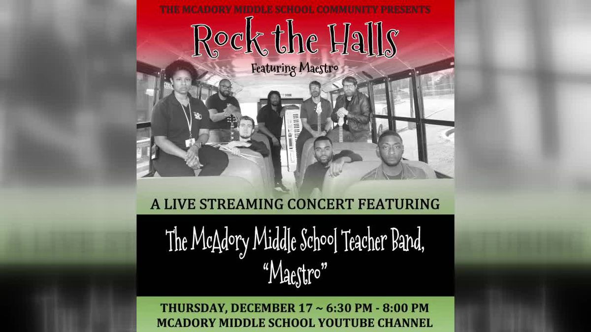 McAdory Middle School: Rock The Halls