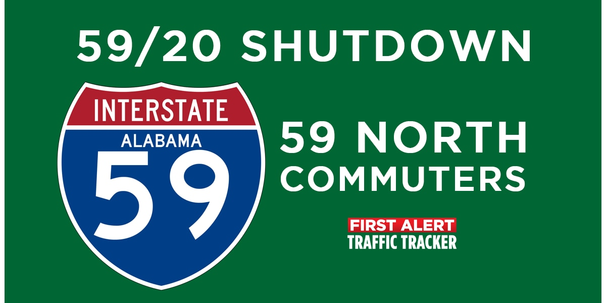 I-59/20 Shutdown: Best routes for 59 North Commuters