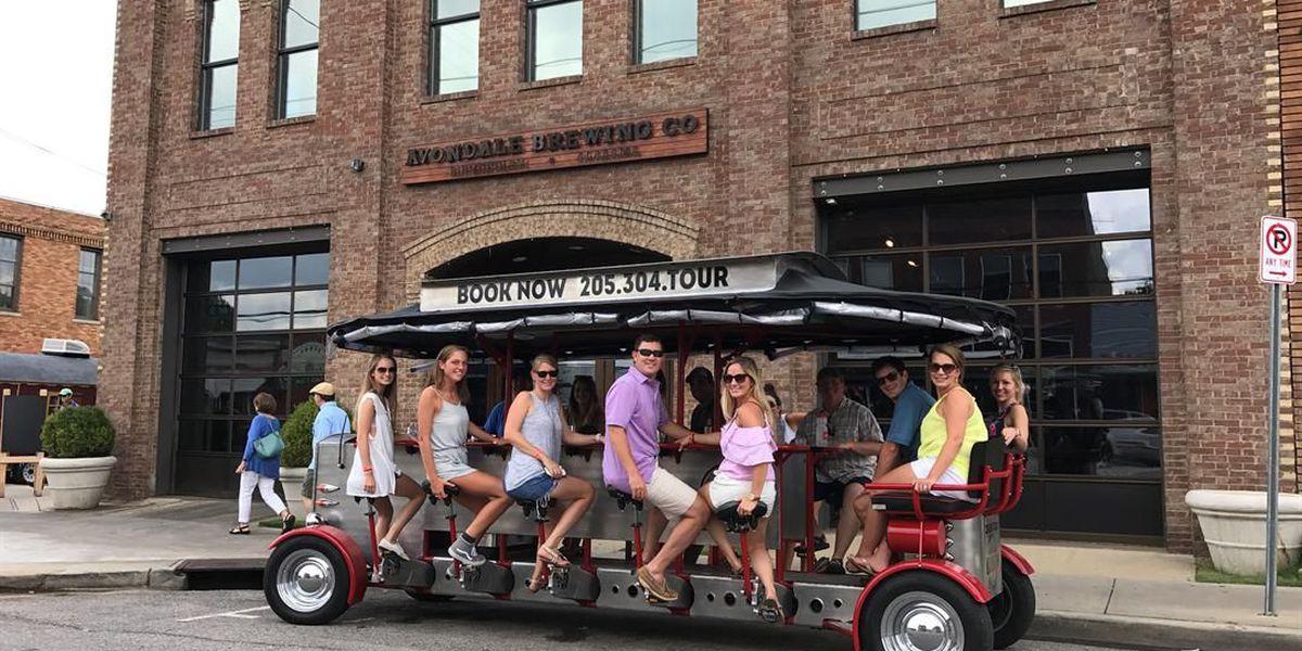 Birmingham City Council approves alcohol on pedal bus tours