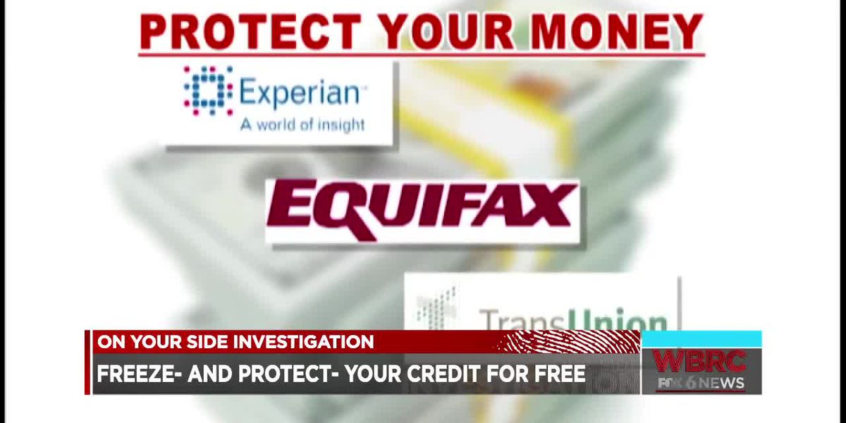 Freeze and protect your credit for free