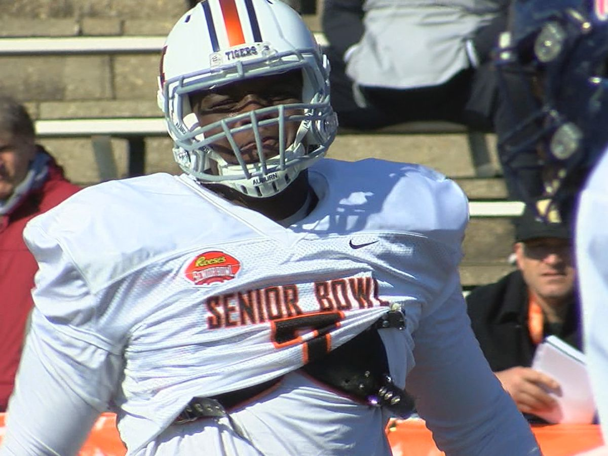 Auburn defensive end Marlon Davidson ready to impress at Senior Bowl