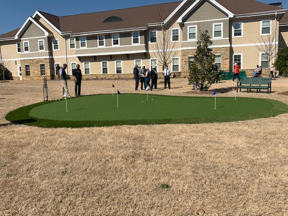New putting green for state veteran's home in Pell City