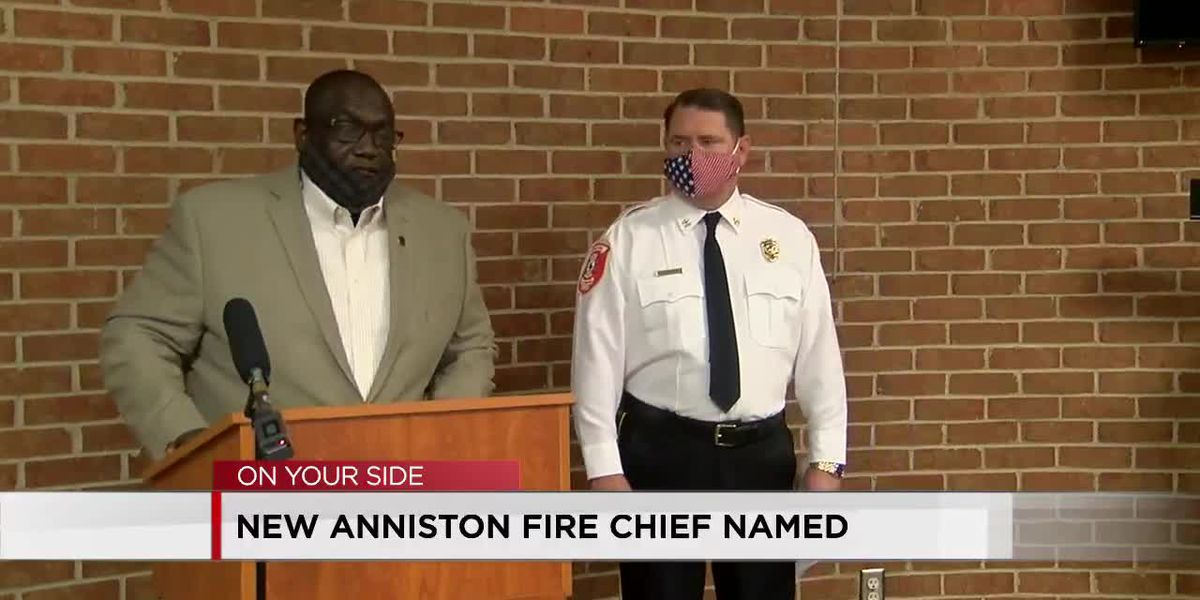 Anniston receives new fire chief