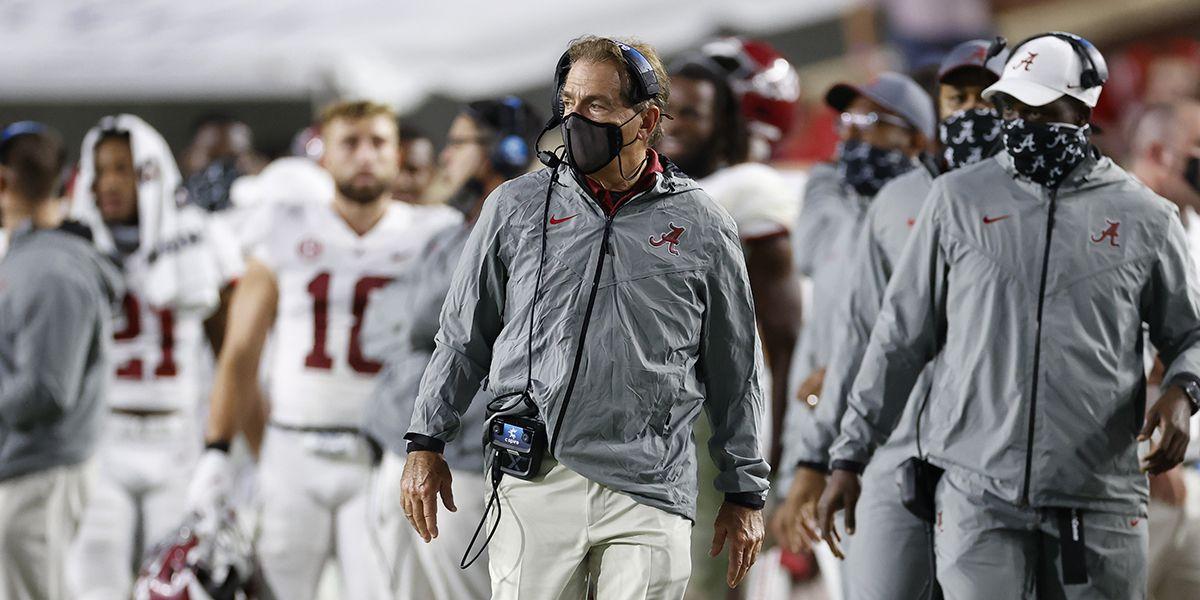 Alabama at LSU game postponed because of COVID-19