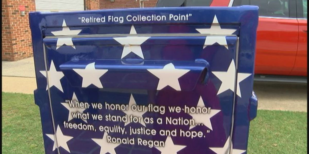 Fire department working to make sure flags are retired respectfully