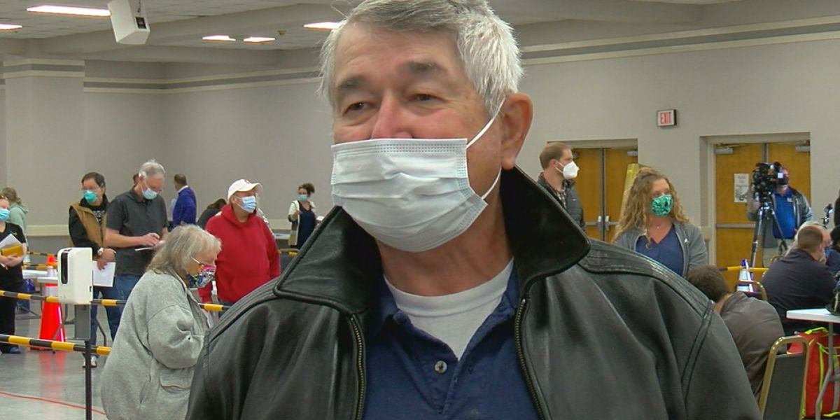 Calhoun County man says he got the vaccine because he misses his family