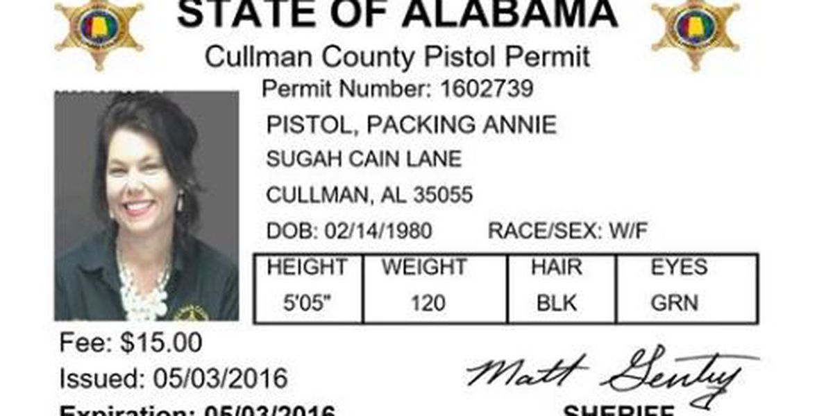Big increase in pistol permits in Cullman County