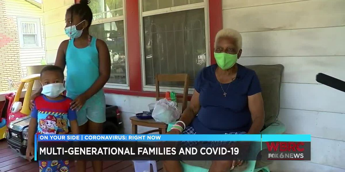 Multi-generational families and COVID-19